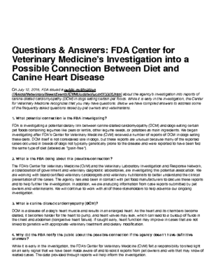 FDA 2nd publication